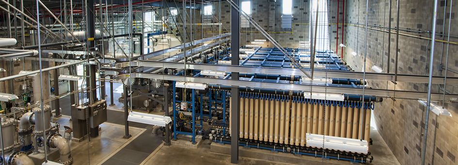 Advanced Water Purification Facility Awpf Earth Systems